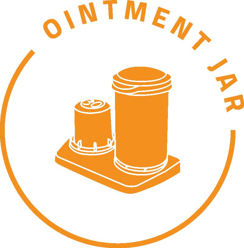 Ointment-Jar